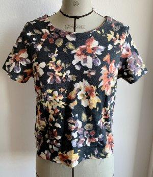 Interlock Tshirt mit Blumenprint von Vila