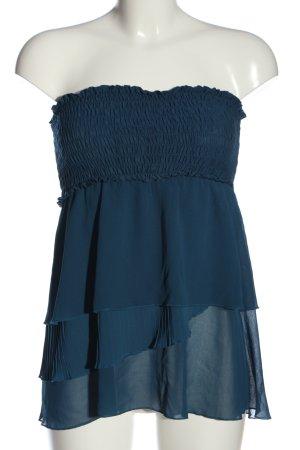 Intimissimi ärmellose Bluse blau Casual-Look