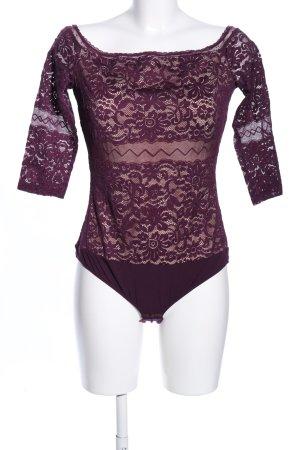 Intimissimi Blusa tipo body lila elegante