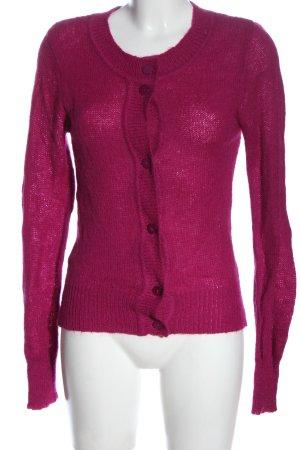 Intimissimi Cardigan rosa punto treccia stile casual