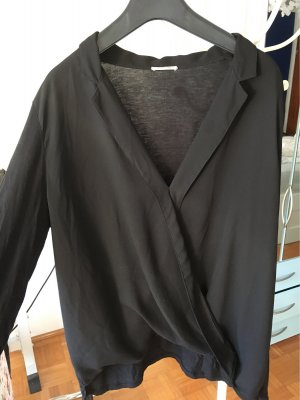 Intimissimi Kopertowa bluzka czarny