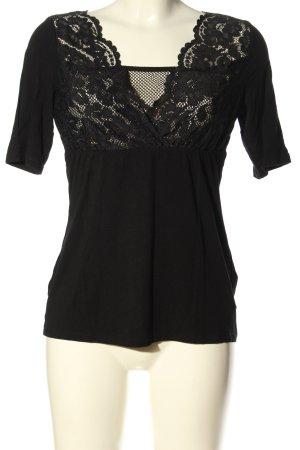 Intimissimi Empire shirt zwart casual uitstraling