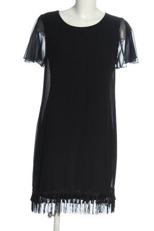 Intimissimi Robe à franges noir élégant