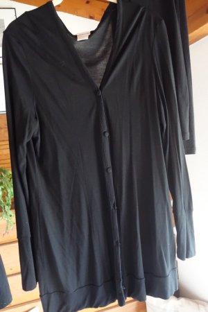 Intimissimi Homewear, Viskose Anzug, Sweatjacke und Legging, zart und anschmiegsam, superleicht und angenehm, Jersey, 100% Micromodal, schwarz, neu, ungetragen, Gr. L, Gr. 40