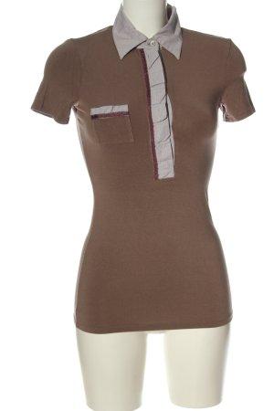 Intimissimi Polo marrone-grigio chiaro elegante