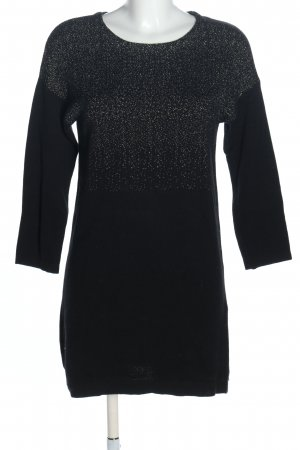 Intimissimi Sweater Dress black-white abstract pattern casual look
