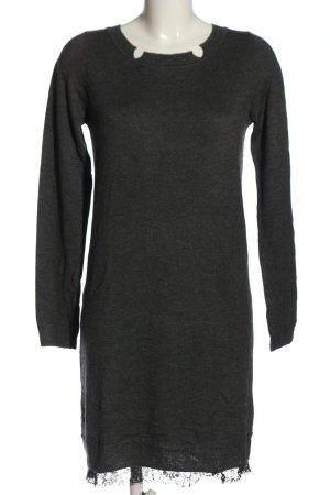 Intimissimi Abito maglione grigio chiaro puntinato stile casual