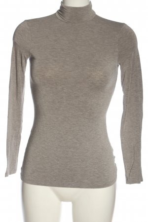 Intimissimi Turtleneck Shirt light grey flecked casual look