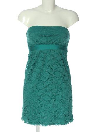 Intimissimi schulterfreies Kleid türkis Elegant