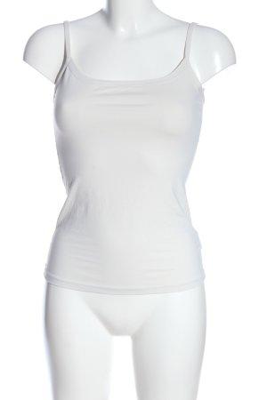 Intimissimi Top con bretelline bianco stile casual