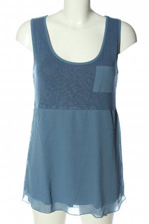 Intimissimi Knitted Top blue flecked casual look
