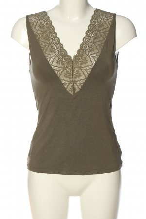 Intimissimi Knitted Top khaki casual look
