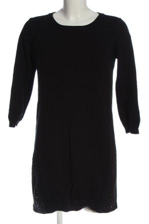 Intimissimi Vestido de tela de sudadera negro look casual