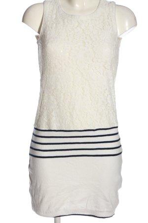 Intimissimi Minikleid weiß-schwarz Streifenmuster Casual-Look
