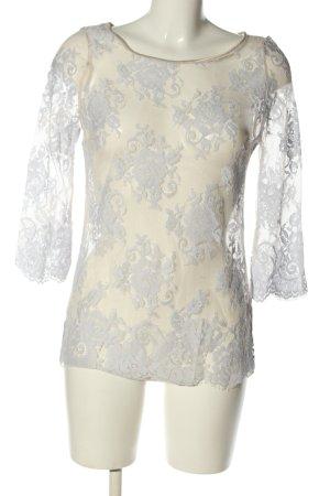 Intimissimi Transparenz-Bluse weiß Elegant