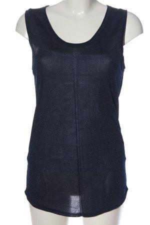 Intimissimi Transparenz-Bluse blau Casual-Look