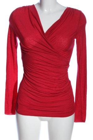Intimissimi T-shirt col en V rouge style décontracté