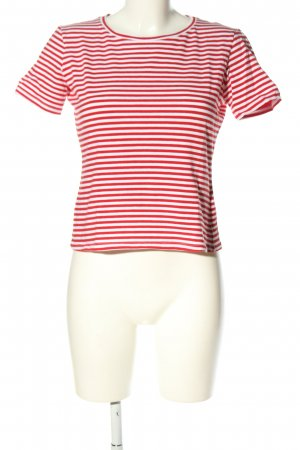Intrend Ringelshirt rot-weiß Casual-Look