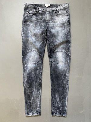 Diesel Workowate jeansy Wielokolorowy Bawełna