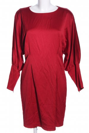 Intropia Langarmkleid rot Business-Look