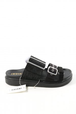 Inuikii Komfort-Sandalen schwarz Casual-Look