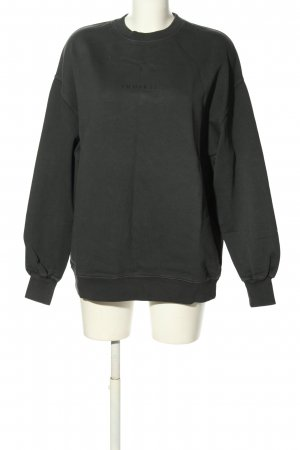"Inuikii Sweatshirt ""SWEATSHIRT ZRH—STHLM BLACK"" schwarz"