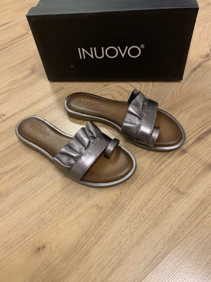 Inuovo Outdoor Sandals grey brown-bronze-colored