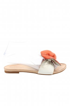 Inuovo Beach Sandals white-light orange casual look