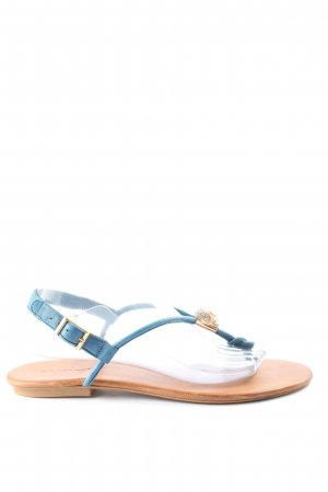 Inuovo Sandały japonki niebieski-brązowy W stylu casual