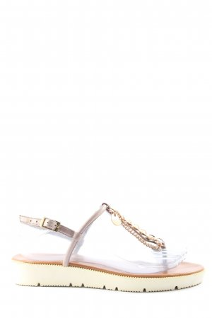 Inuovo Dianette sandalen lichtgrijs casual uitstraling