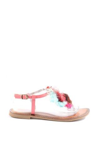 Inuovo Sandały japonki różowy-brązowy W stylu casual
