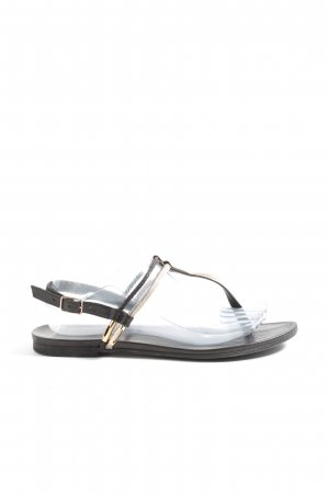 Inuovo Dianette Sandals black-gold-colored casual look