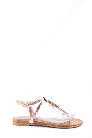 Inuovo Flip Flop Sandalen pink Casual-Look