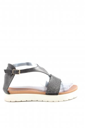 Inuovo Chanclas negro look casual