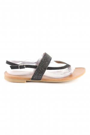 Inuovo Flip Flop Sandalen schwarz Casual-Look
