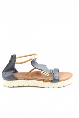 Inuovo Komfort-Sandalen blau Casual-Look
