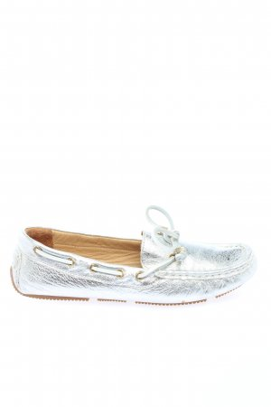 Inuovo Mocassins zilver casual uitstraling