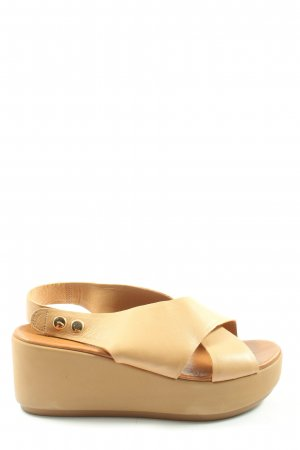 Inuovo Platform High-Heeled Sandal natural white casual look