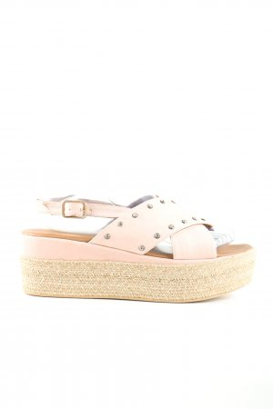 Inuovo Plateau-Sandaletten pink Casual-Look