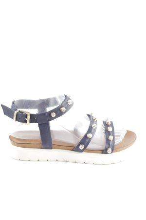 Inuovo Riemchen-Sandalen blau Casual-Look