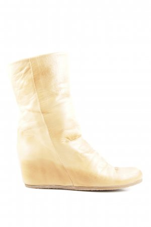 Inuovo Schaftstiefel goldfarben Casual-Look