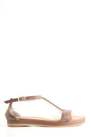 Inuovo T-Steg-Sandaletten wollweiß Casual-Look