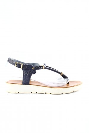 Inuovo Toe-Post sandals blue casual look