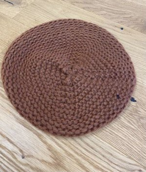 inverni Knitted Hat light brown-cognac-coloured