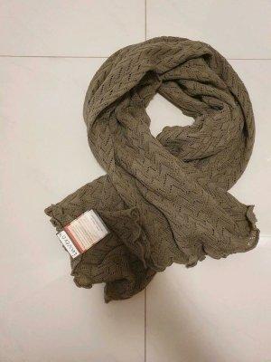 invero Woolen Scarf khaki-ocher wool