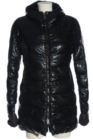 Invicta Chaqueta con capucha negro estampado acolchado look casual