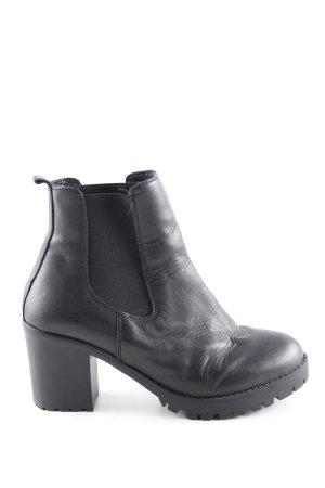 Invito Chelsea Boots schwarz Casual-Look