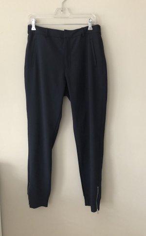 InWear Pantalon en lin bleu foncé