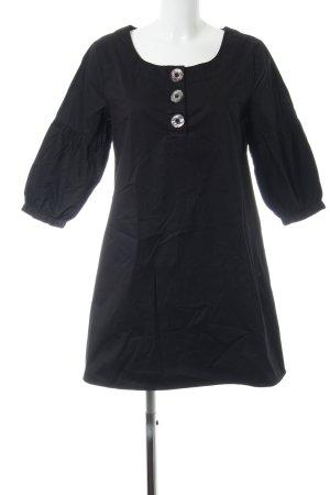 InWear A-Linien Kleid schwarz Business-Look