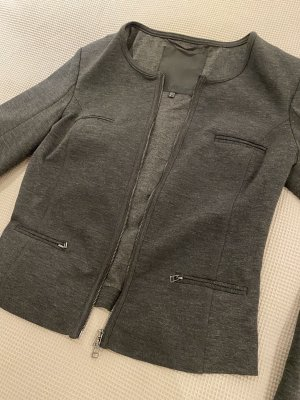 InWear Blazer de tela de sudadera gris oscuro-gris